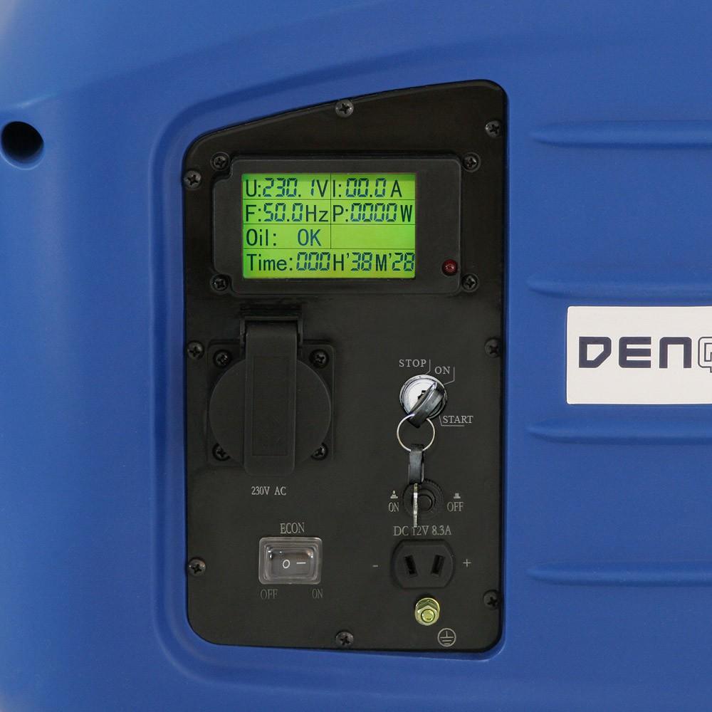 ivo grandiČ - elektrocentrály - denqbar - e-start 2,8 kw digitální