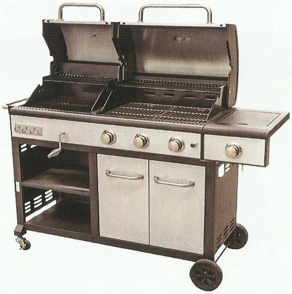 Ivo grandi grily tarrington house zahradn gril 2v1 for Tarrington house grill